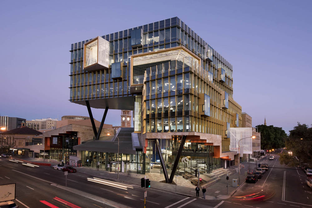 Build australia new space sets the benchmark for design for New building plans