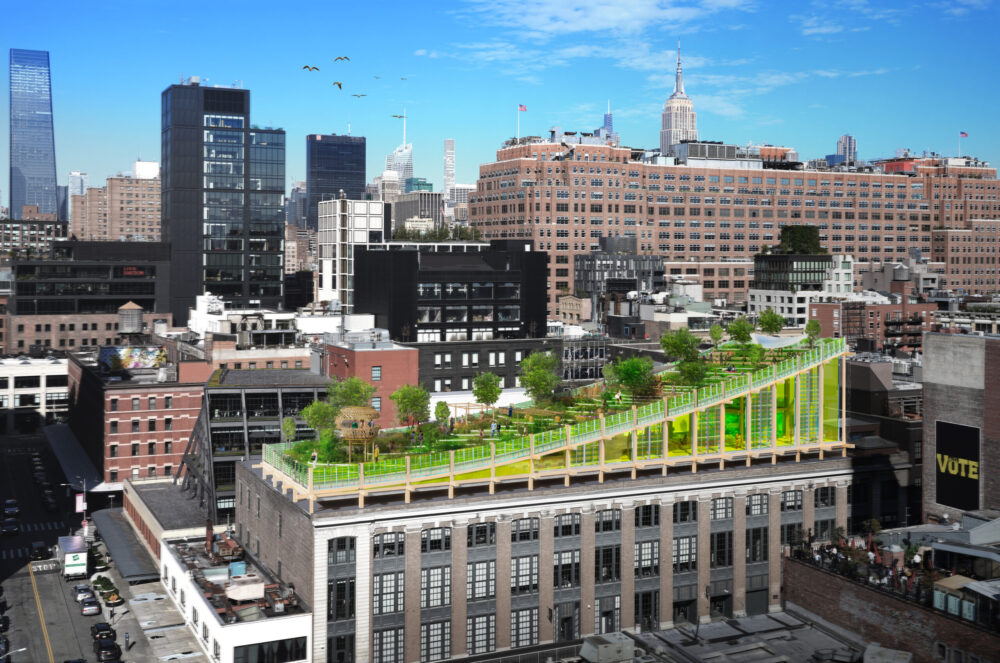 Building to feature stunning natural biotope in Manhattan