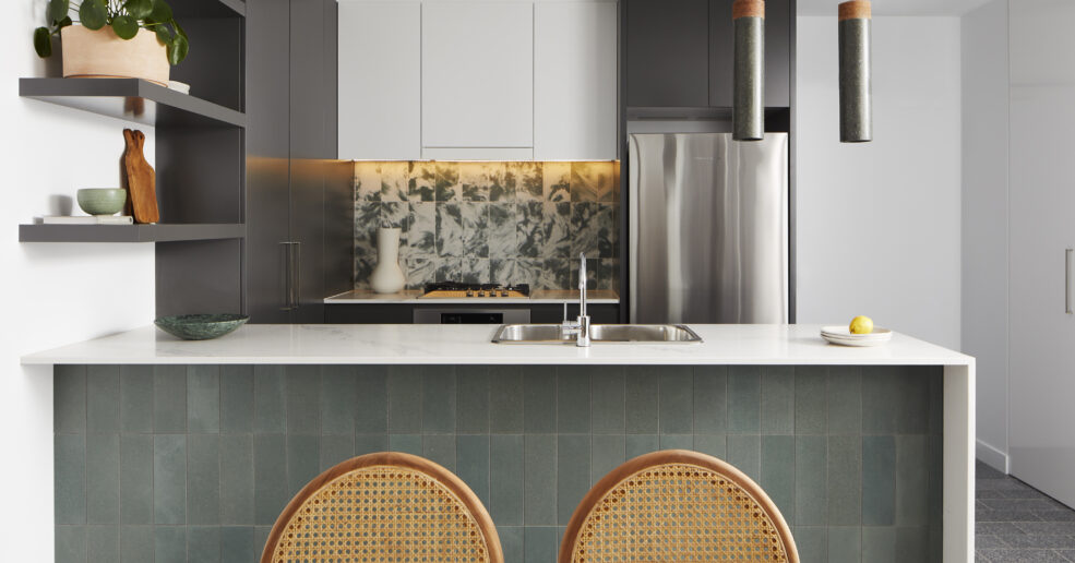Apartment made from waste glass and textiles recognised in awards program