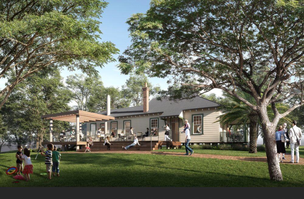 DA for refurbishment of historic Police Cottage