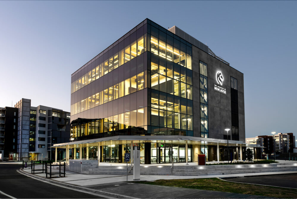 State-of-the-art University of Newcastle building to open next month
