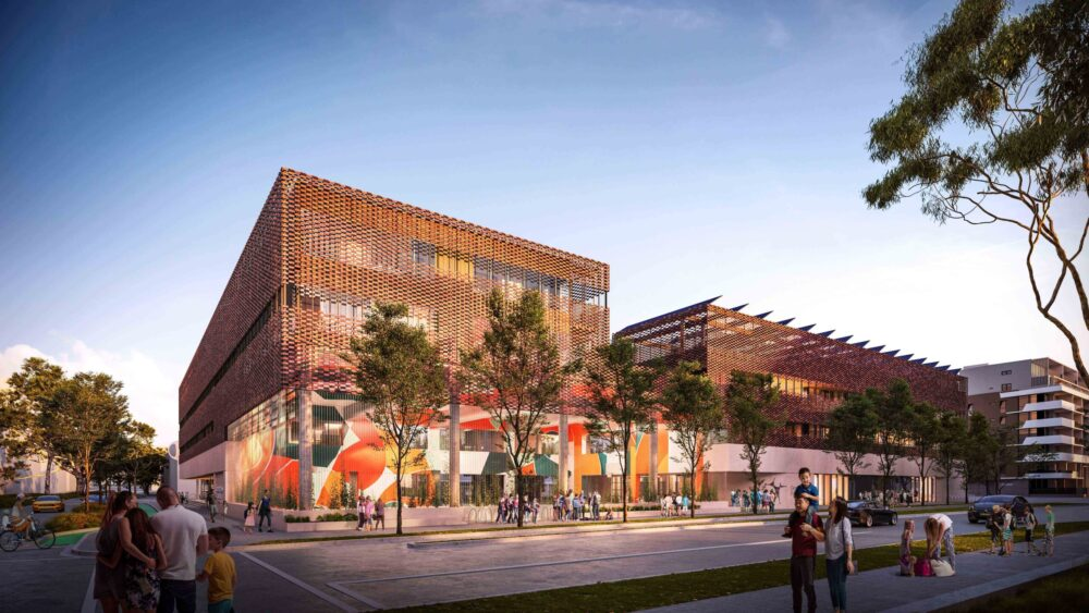 New school and community space for Green Square