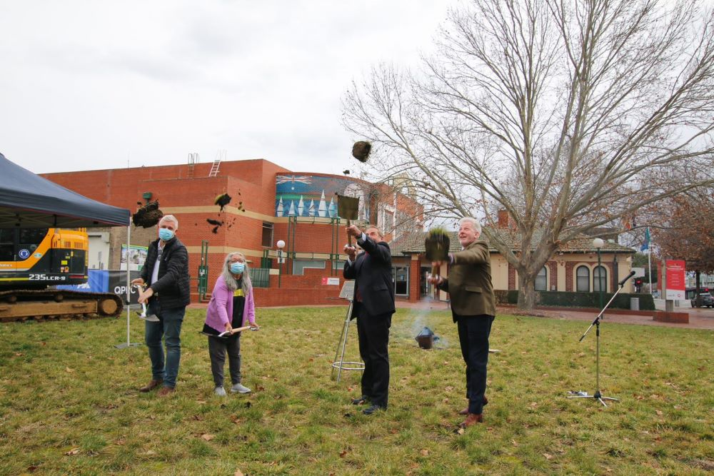 First sod turned on Queanbeyan Civic and Cultural Precinct