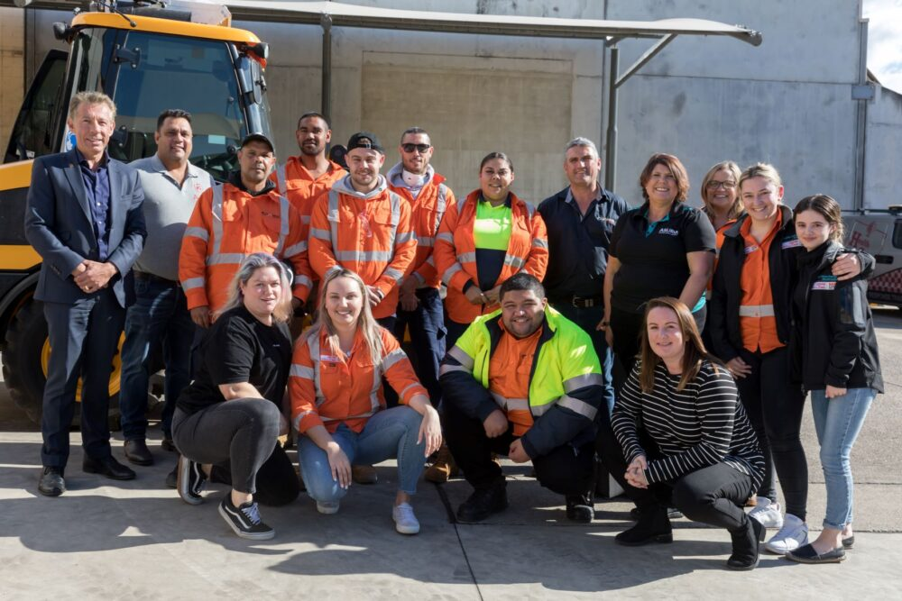 Indigenous workers join WestConnex through Workplace Readiness Program