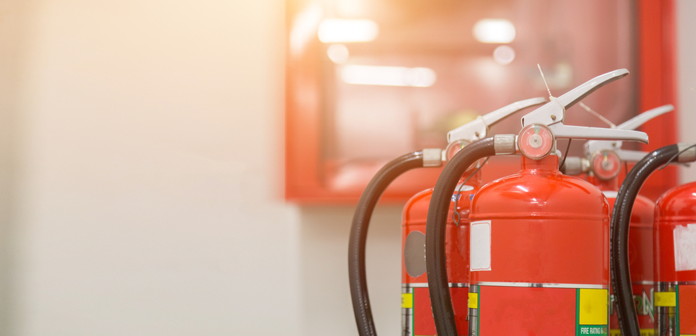 Building occupant safety linked to building fire protection checks