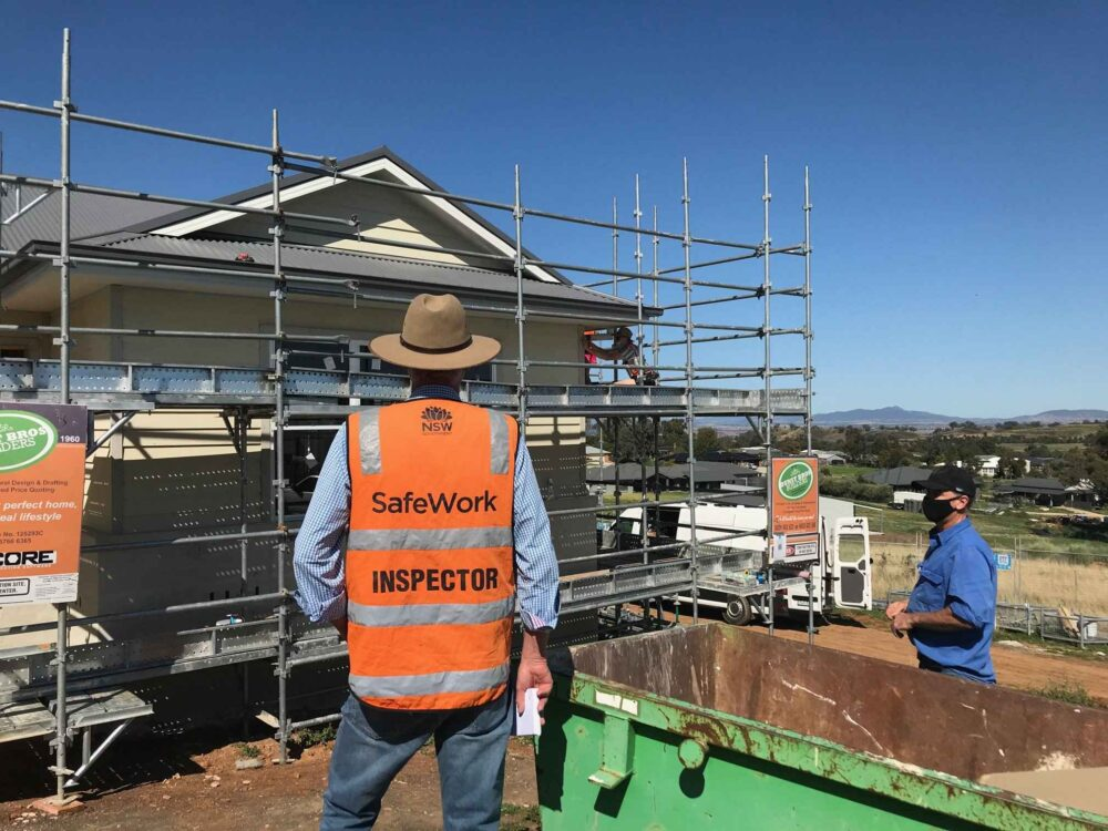 NSW Government safeguarding against building site incidents