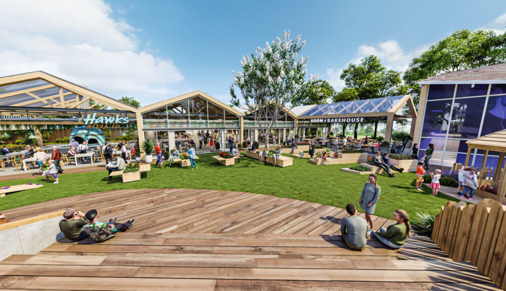 Vineyard to receive first of its kind community hub