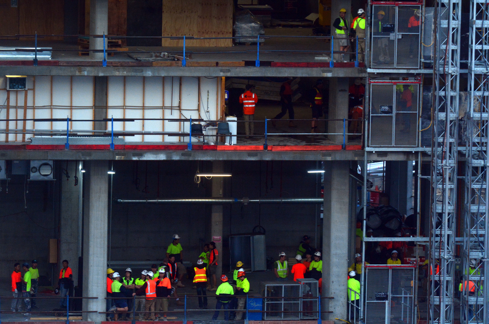 Victorian building and construction industry shutdown